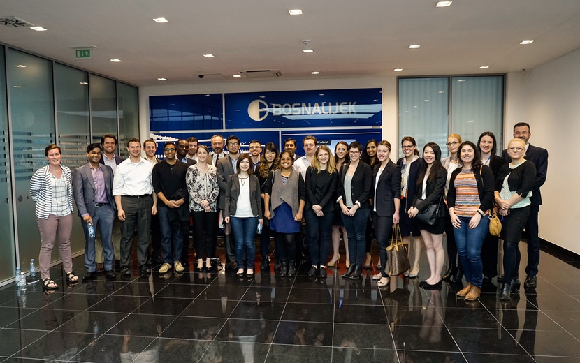 Bosnalijek hosts Students from the American University Yale