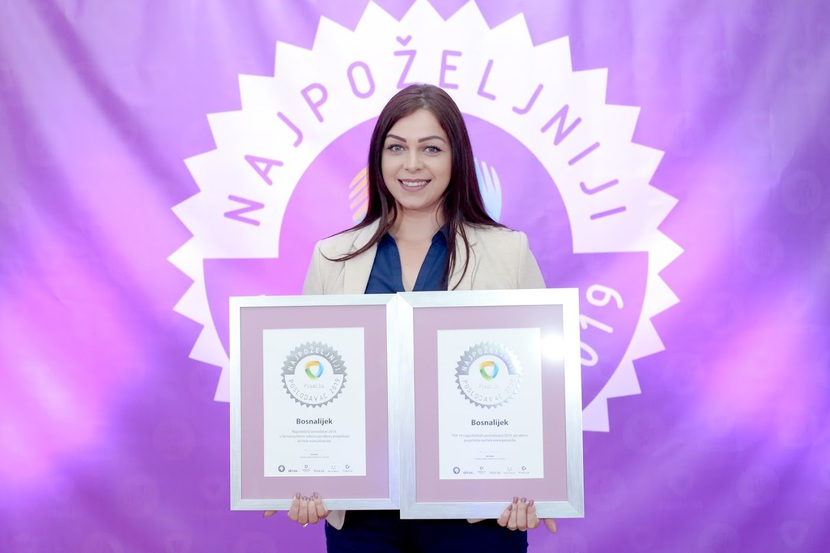 Bosnalijek is again the best employer in the pharmaceutical sector in 2019