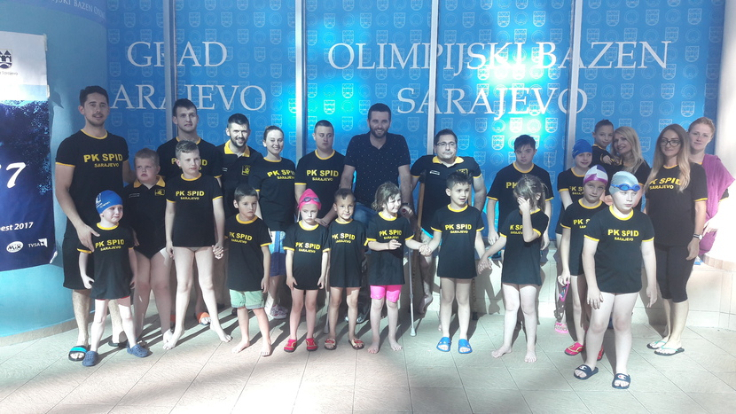 Bosnalijek Donates New Equipment to the Spid Swimming Club